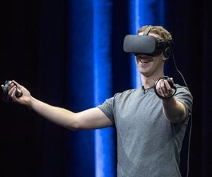 facebook, oculus, and mark zuckerberg image
