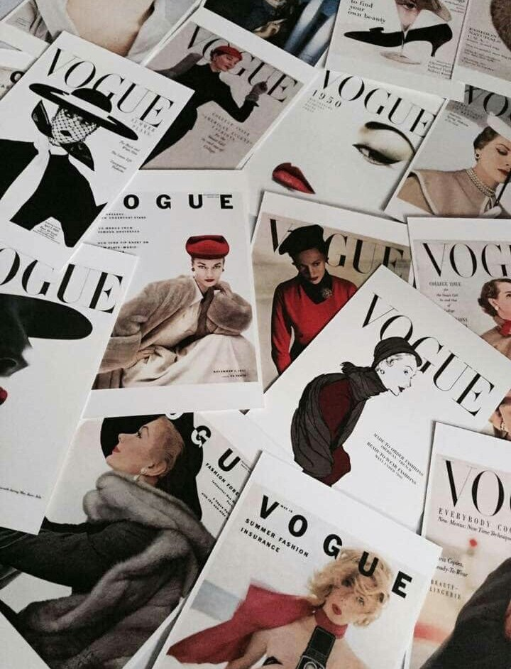article, vogue, and 73 questions with vogue image