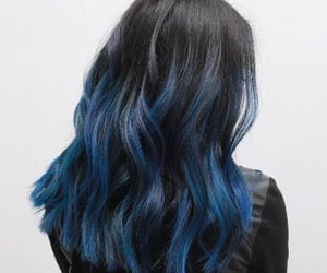 blue, color, and girls image