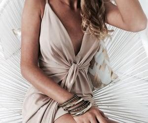 dress, summer dress, and summer fashion image