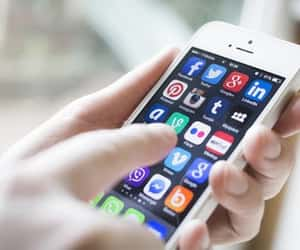 marketing, social media, and apps image