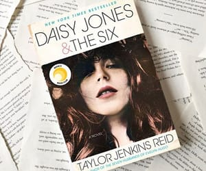 book, books, and daisy jones and the six image