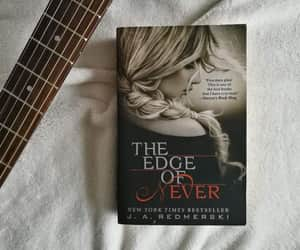book, the edge of never, and redmerski image