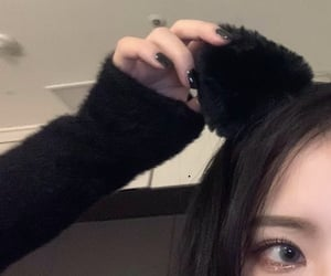 cat ears, aesthetic, and asian image