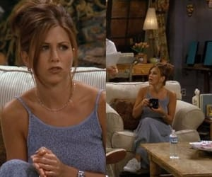 90s, rachel green, and style image