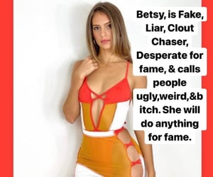 desperate, fake, and clout image