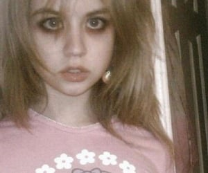 allison harvard, girl, and creepy image