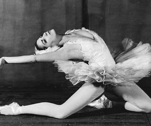 ballerina, ballet, and legs image
