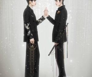 boys, wang yibo, and uniq image