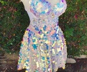iridescent, fashion, and festival image