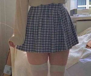 body, mini skirt, and short skirt image