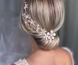 belleza, hair, and moño image