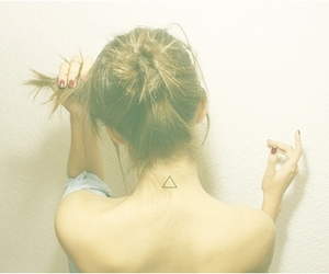 hair, hipster, and tattoo image