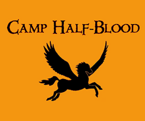 percy jackson, camp half-blood, and book image
