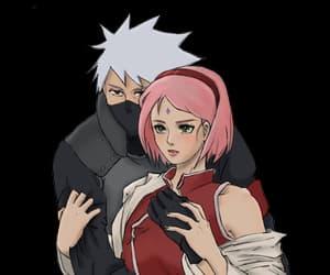 kakashi, naruto, and haruno sakura image