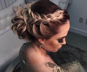 cabelo, style, and fashion image