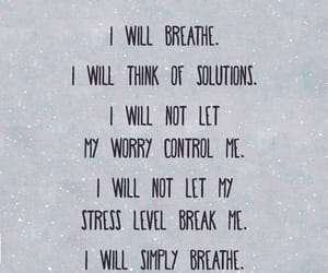 anxiety, stay strong, and control image