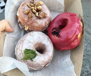 dessert, donut, and enjoy image