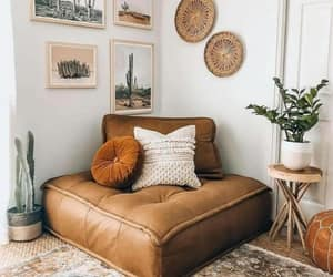 home, brown, and decoration image