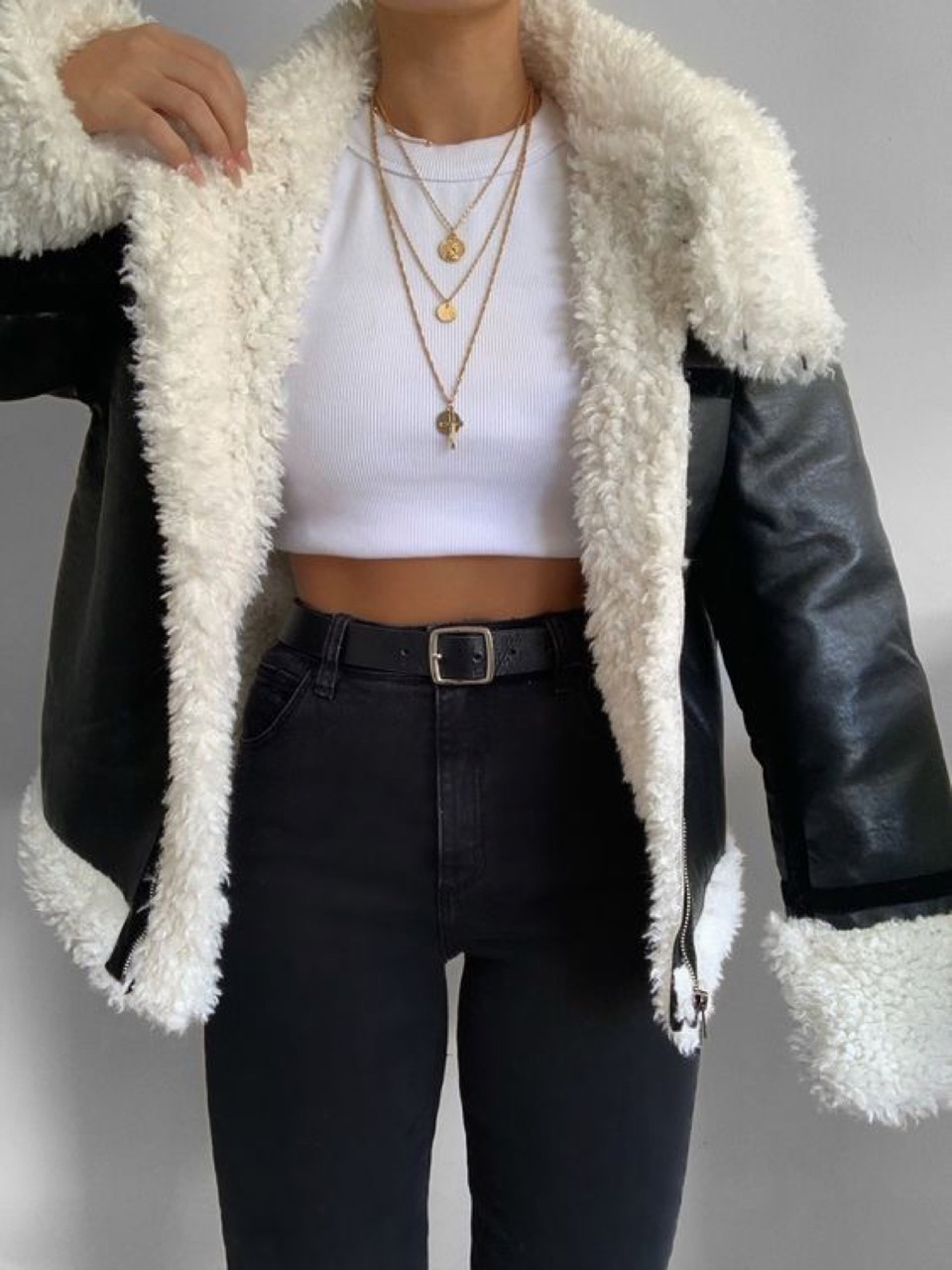 style, black, and outfit image