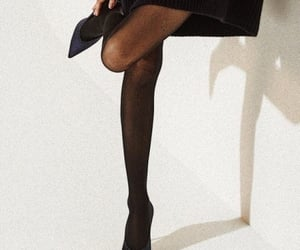black, fashion, and tights image