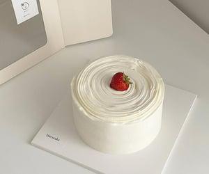 cake, dessert, and white image