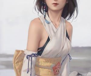 fantasy, ff, and yuna image