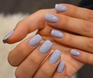 nails, nail polish, and fashion image