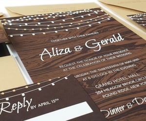 rustic cards, rustic wedding invites, and rustic invitations image