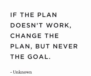 plan, positivity, and quotes image
