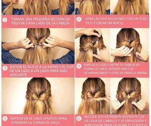 bow, tutorials, and hair image