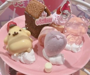 sanrio, food, and aesthetic image