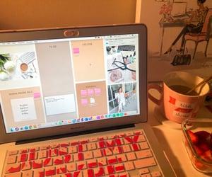 studying, wallpaper, and girlboss image