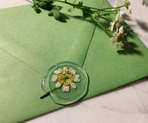 green, flowers, and aesthetic image