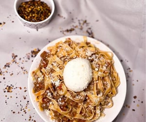 carbs, fettuccine, and foodie image
