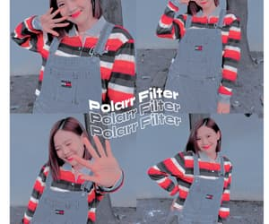 hyojung, ohmygirl, and polarr image