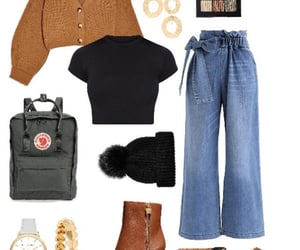 autumn, outfits, and school image