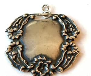 etsy, edwardian jewelry, and antique luggage tag image