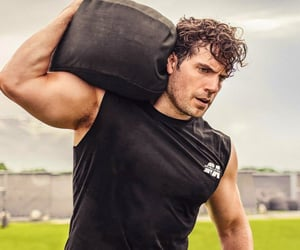 arms, exercise, and gym image