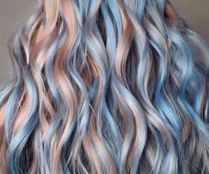 orange hair, hair color, and pastel hair image