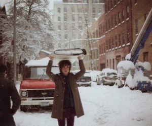 andrew vanwyngarden, Brooklyn, and snow image