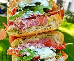 sandwich, sopressata, and prosciutto image