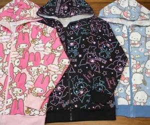 fashion, hoodies, and kuromi image