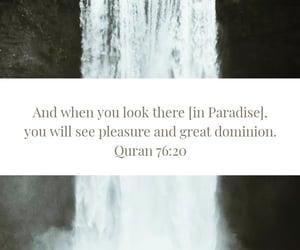 islam, quran, and jannah image