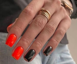 manicure, red, and summer image