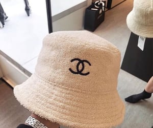 chanel, fashion, and hat image