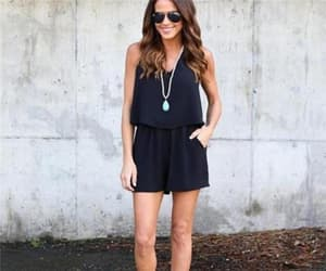 black, chic, and classy image