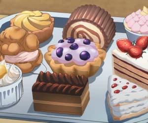 anime, food, and dessert image
