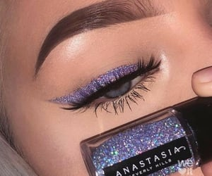 eyeliner, beauty, and eyes image