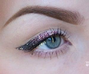 beauty, eyes, and eyeliner image